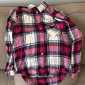 AEO: Plaid Button-down